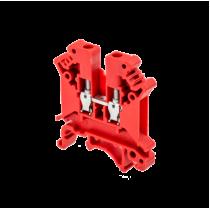 Клемма винтовая одноуровневая MEYERTEC MTU-4RD (комплект 25 шт)
