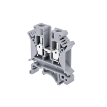 Клемма винтовая одноуровневая MEYERTEC MTU-6 (комплект 25 шт)