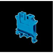 Клемма винтовая одноуровневая MEYERTEC MTU-6BL (комплект 25 шт)