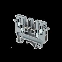 Клемма винтовая многовыводная MEYERTEC MTU-FO4 (комплект 15 шт)