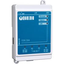 Контроллер для распределенных систем ОВЕН ПЛК304-24-СS