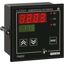 Двухканальный регулятор с универсальным входом и RS-485 ОВЕН ТРМ202-Щ1.РР