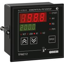 ПИД-регулятор с универсальным входом для задвижек с RS-485 ОВЕН ТРМ212-Щ1.РР