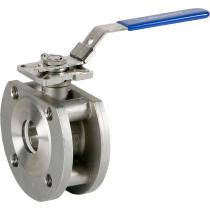 Кран шаровой межфланцевый из нержавеющей стали с ISO-фланцем Genebre 2118-09 Ру16 Ду50 (PN16 DN50)