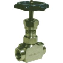 Клапан запорный игольчатый резьбовой из углеродистой стали Genebre 2221-04 Ру220 Ду15 (PN220 DN15 )
