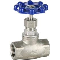 Вентиль игольчатый резьбовой из нержавеющей стали Genebre 2230-04 DN15 PN16