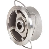 Клапан обратный дисковый межфланцевый из нержавеющей стали Genebre 2415-08 Ру40 Ду40 (PN40 DN40 )
