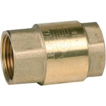Клапан обратный пружинный резьбовой латунный Genebre 3121-09 DN50 PN18