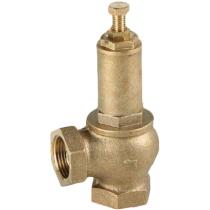 Клапан предохранительный резьбовой латунный Genebre 3190-06 DN25 PN16