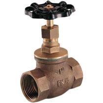 Клапан запорный сальниковый резьбовой бронзовый Genebre 3228-04 DN15 PN16