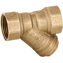 Фильтр сетчатый резьбовой латунный Genebre 3302-06 Ру16 Ду25 (PN16 DN25 )