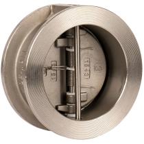 Клапан обратный двухстворчатый межфланцевый из нержавеющей стали Genebre 2402-11 Ру25 Ду80 (PN25 DN80 )