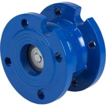 Клапан обратный дисковый фланцевый чугунный Genebre 2450-09 Ру16 Ду50 (PN16 DN50 )