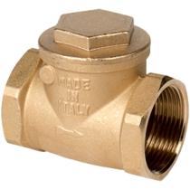 Клапан обратный поворотный резьбовой латунный Genebre 3180-09 DN50 PN10