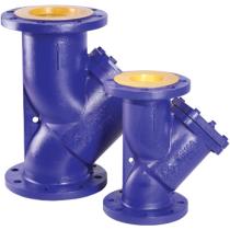 Фильтр сетчатый чугунный фланцевый Rushwork 600-080-16/1,2 Ру16 Ду80 со сливной пробкой (PN16 DN80 )
