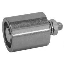 Ролик натяжителя ремня стальной RU4 D.60 Sati
