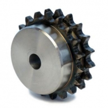 Звездочка однорядная под расточку со ступицей с калеными зубьями для цепи Sati: 06B-1, Z=12, 3/8