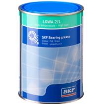 Антизадирная пластичная смазка для высоких нагрузок и широкого диапазона температур SKF LGWA 2/1