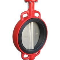 Затвор дисковый поворотный чугунный межфланцевый с редуктором XUROX 205WN R Ру16 Ду350 (PN16 DN350)