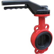 Затвор дисковый поворотный стальной межфланцевый XUROX 805WE P Ру16 Ду65 (PN16 DN65)