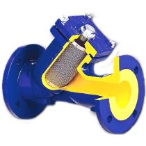 Фильтр чугунный фланцевый Zetkama 821А-050-С50 Ру16 Ду50 со сливной пробкой (PN16 DN50 )