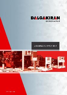 Каталог генераторного оборудования Dalgakiran