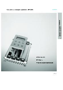 Контроллеры позиционирования Festo SPC200