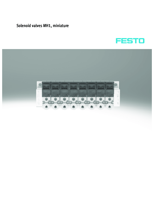 Пневмоострова Festo серии MH1-EN