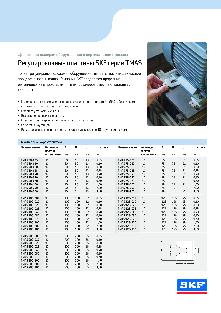 Регулировочные пластины SKF серии TMAS