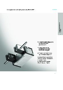Стандартные распределители ISO-5599-1 Festo серии MFH