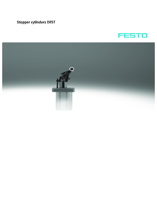 Стопорные цилиндры Festo серии DFST