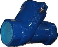 Клапан обратный шаровой чугунный резьбовой ABRA D-022S-NBR PN16 DN80