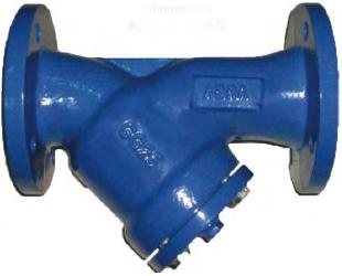 Фильтр сетчатый чугунный фланцевый ABRA YF-3016-DF PN16 DN80
