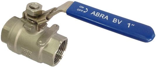 Кран шаровой резьбовой ABRA BV-027A PN40 DN80