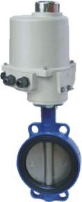 Затвор дисковый межфланцевый с электроприводом 3х380 ABRA BUV-VF826D250GGG40NBR PN16 DN250 NBR