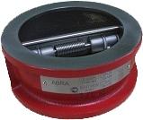 Обратный клапан пружинный межфланцевый ABRA D-122-EN PN16 DN600