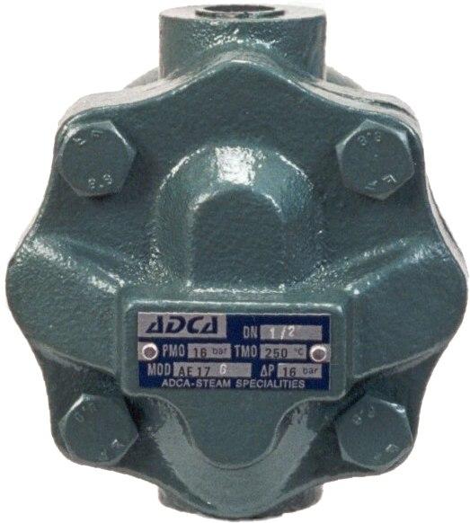 Воздухоотводчик поплавковый из чугуна резьбовой ADCA AE17/GE DN3/4 PN16