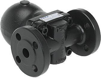 Воздухоотводчик автоматический поплавковый из углеродистой стали фланцевый ADCA AE20-21 DN20 PN40