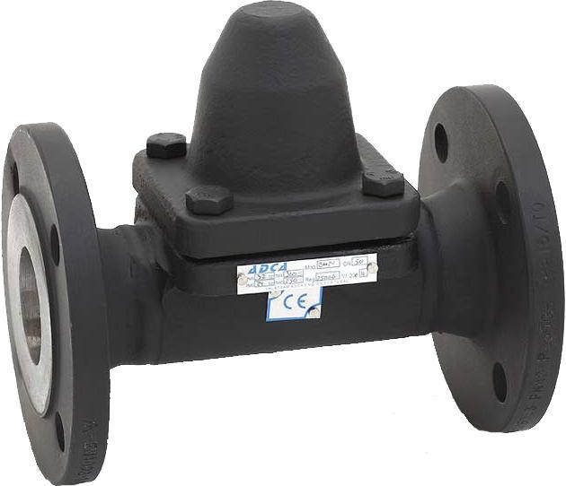 Конденсатоотводчик биметаллический стальной фланцевый ADCA BM140 DN25 PN160