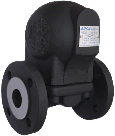 Конденсатоотводчик поплавковый чугунный фланцевый ADCA FLT17-4,5 DN20 PN16