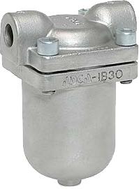 Конденсатоотводчик поплавковый резьбовой ADCA IB30SS-8 DN1/2 PN40