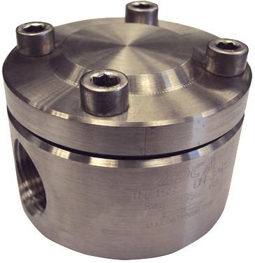 Конденсатоотводчик термостатический из нержавеющей стали фланцевый ADCA TH21SS DN25 PN40