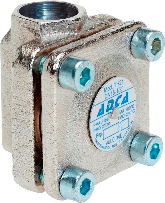 Конденсатоотводчик термостатический стальной фланцевый ADCA TH21 DN15 PN25