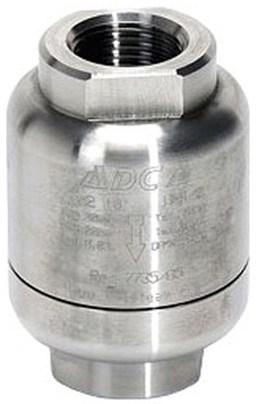 Конденсатоотводчик термостатический из нержавеющей стали резьбовой ADCA TSS22 DN1/4 PN40