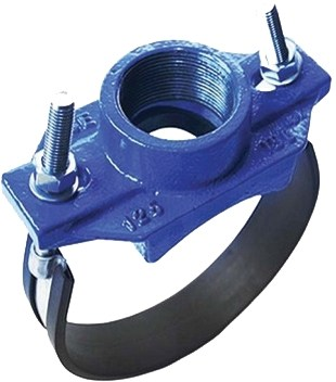 Отвод хомутовый муфтовый АТКА 383 DN150 PN16