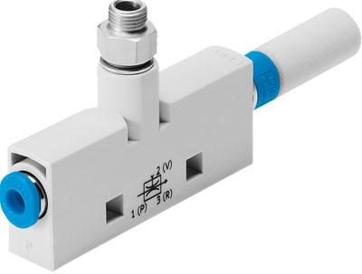 Эжектор базовый вакуумный пневматический Festo VN-10-L-T4-PQ2-VA5-RO2