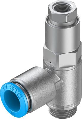 Управляемый обратный клапан Festo HGL-1/4-QS-10