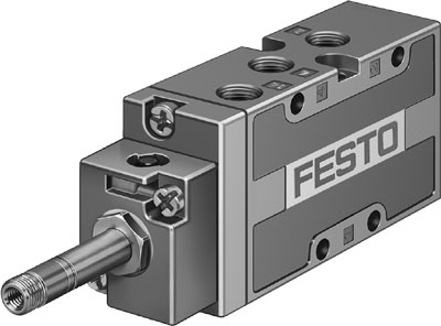 Распределитель с электроуправлением Festo MFH-5-1/8-L-S-B-EX