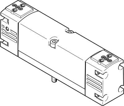 Базовый распределитель Festo VSVA-B-P53U-A1-P1