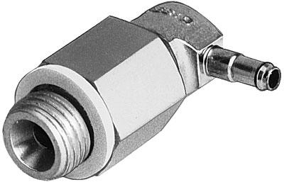 Фитинг угловой резьбовой Festo LCNH-1/8-PK-6 (комплект 10 шт)